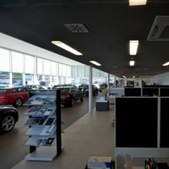 Der Verkaufsraum:  Autohäuser von HGP AG