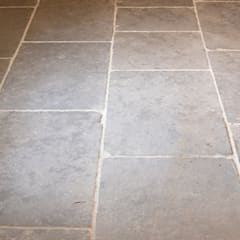 Worn Grey Limestone:  Walls by Floors of Stone Ltd