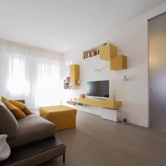 غرفة المعيشة تنفيذ ristrutturami, تبسيطي