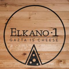 Elkano 1: gazta is cheese: Espacios comerciales de estilo  de Hirukistudio