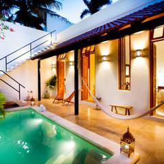 eclectisch Zwembad door Taller Estilo Arquitectura