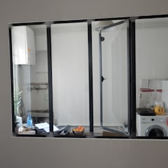 VERRIÈRES INTÉRIEURES: Fenêtres de style  par http://creacier.fr