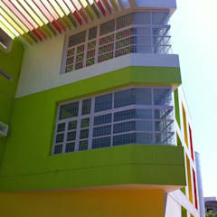 VISHWAKSENA VIDYA VIKAS SCHOOL:  Terrace by Muraliarchitects