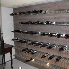 قبو النبيذ تنفيذ MATTEONOFRINTERIORDESIGNER