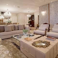classic Living room by Mariane e Marilda Baptista - Arquitetura & Interiores