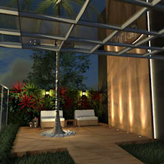 صالة مناسبات تنفيذ Konverto Interiores + Arquitetura,