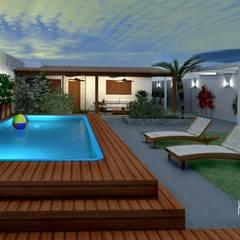 Pool by Konverto Interiores + Arquitetura, Modern