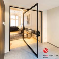 Moderne taatsdeuren op maat:  Glazen deuren door Anyway Doors
