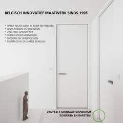 Onzichtbare deuren op maat:  Binnendeuren door Anyway Doors