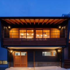 生駒の家 モダンな 家 の 建築工房 at ease モダン