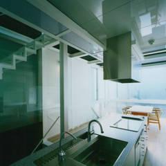 Dapur oleh 原 空間工作所 HARA Urban Space Factory, Modern