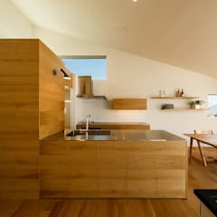 scandinavian Kitchen by 一級建築士事務所haus