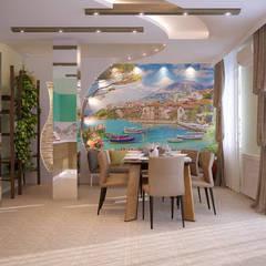 آشپزخانه by Студия интерьерного дизайна happy.design