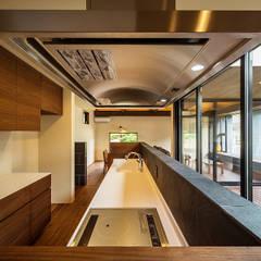 Dapur oleh 一級建築士事務所haus, Asia