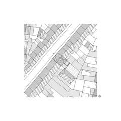 plan d'implantation: Maisons de style  par ici architectes sprl