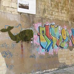 Le baleineau: Murs de style  par Mousse Graffiti