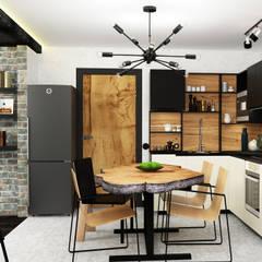Cocinas de estilo industrial por AbcDesign