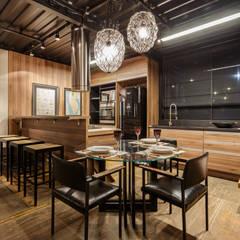 loft casal Construir Casa design Lagoa Santa  - Belo Horizonte Brasil : Locais de eventos  por cioli arquitetura e design
