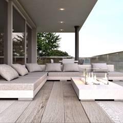Restyling villa residenziale lago di garda : Terrazza in stile  di ARTREADY