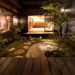 Jardines de estilo  por 有限会社 TEAMWORKS