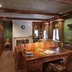Study/office by Abwarten!, Colonial