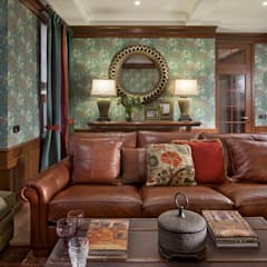 Living room by Abwarten!, Colonial