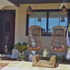 Jardines de estilo  por Ésse Arquitetura e Interiores