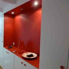 Loft de 70 m2 à Paris 12: Salle de bains de style  par pillonel lacoste