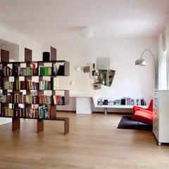 MAT architettura e design Modern Oturma Odası