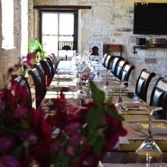 Griffon Boutique Hotel – Fabrika Restaurant: kolonyal tarz tarz Yemek Odası