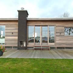Voorzijde: moderne Huizen door Vos | Hoffer | vdHaar architecten