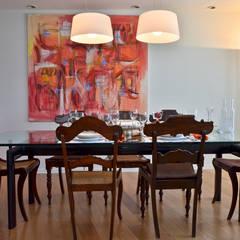 Piso en Palermo I: Comedores de estilo moderno por GUTMAN+LEHRER ARQUITECTAS
