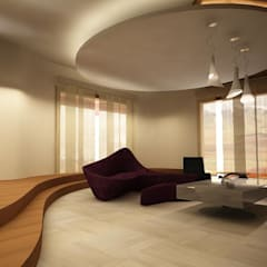 teknogrup design – villa: minimal tarz tarz Oturma Odası