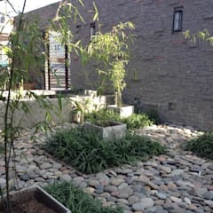 patio: Jardines de estilo asiático por BAIRES GREEN