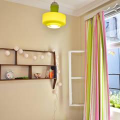 Departamento en Recoleta I: Dormitorios de estilo  por GUTMAN+LEHRER ARQUITECTAS