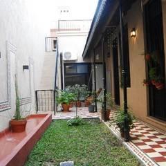 Reciclaje en Colegiales: Jardines de estilo  por Parrado Arquitectura