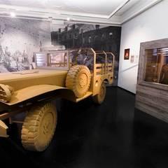 Geteilte Stadt. Linz 1945-1955!:  Museen von papplab GmbH
