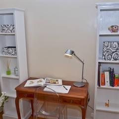 Departamento en Recoleta I: Estudios y oficinas de estilo  por GUTMAN+LEHRER ARQUITECTAS