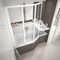 Raumsparbadewanne BeHappy: klassische Badezimmer von Stach & Daiker GbR