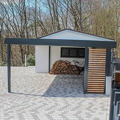 Garajes de estilo  por ESB-Fertiggaragen und Carports