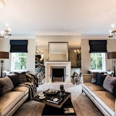 Living room by Luke Cartledge Photography