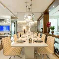اتاق غذاخوری by Chris Silveira & Arquitetos Associados