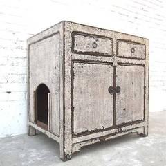 Katzenmöbel Katzentoilette Tiermöbel Truhe Bank:  Ladenflächen von Luxury-Park