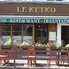 Restaurant Le Retro: Restaurants de style  par Agence C+design - Claire Bausmayer