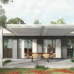 Easy01: Case in stile  di TheZeB Green Building & Interiors