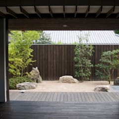 modern Garden by       古津真一 翔設計工房一級建築士事務所
