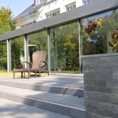 Schwimmhalle in Königstein:  Fenster von Metallbau Beilmann GmbH