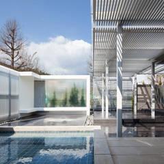 青山の家: Abax Architectsが手掛けた池です。