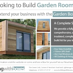 Garden Room:  Garage/shed by Building With Frames
