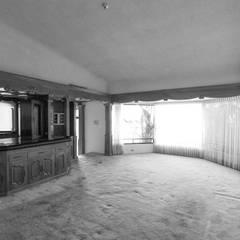 Гостиная в . Автор – Juan Luis Fernández Arquitecto, Модерн